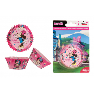 Dekora Cupcake Cases - Minnie Mouse (Pack of 50)
