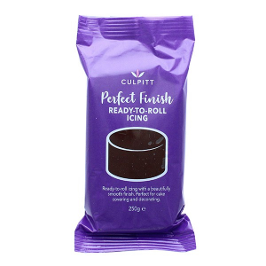 Culpitt Perfect Finish Ready To Roll Icing - Chocolate Flavour (8 x 250g)
