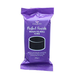 Culpitt Perfect Finish Ready To Roll Icing - Black (250g)