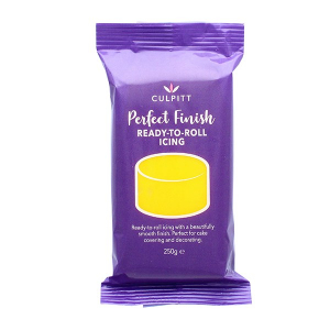 Culpitt Perfect Finish Ready To Roll Icing - Yellow (8 x 250g)