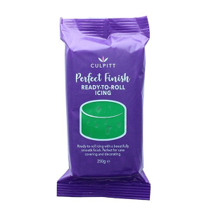 Culpitt Perfect Finish Ready To Roll Icing - Green (8 x 250g)