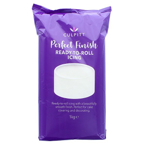 Culpitt Perfect Finish Ready To Roll Icing - Brilliant White (6 x 1kg)