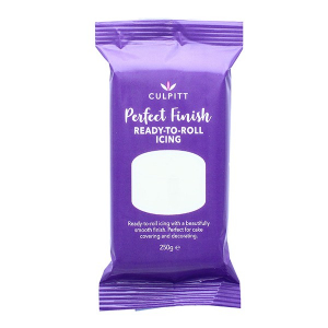 Culpitt Perfect Finish Ready To Roll Icing - Brilliant White