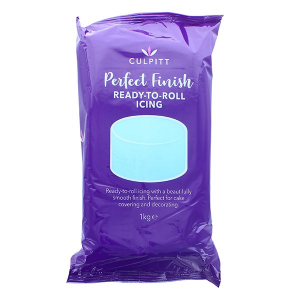 Culpitt Perfect Finish Ready To Roll Icing - Light Blue (1kg)