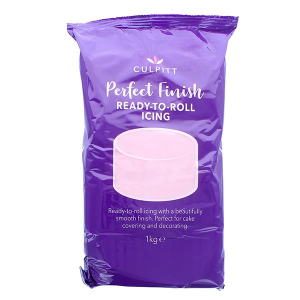 Culpitt Perfect Finish Ready To Roll Icing - Light Pink (6 x 1kg)