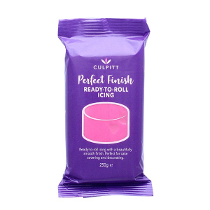 Culpitt Perfect Finish Ready To Roll Icing - Hot Pink (250g)