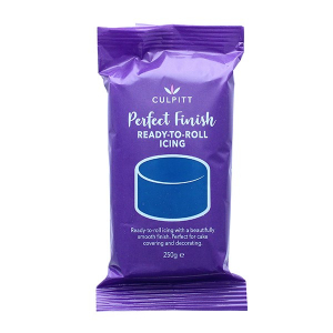 Culpitt Perfect Finish Ready To Roll Icing - Navy Blue