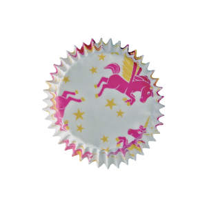 Create A Cake Cupcake Cases - Flying Unicorns (Pack of 25)