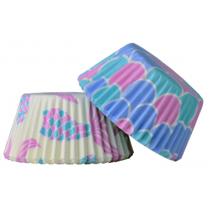 Doric Patterned Cupcake Cases - Under The Sea (Pack of 50)