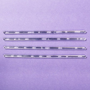 "Culpitt Cake Dowel Rods - Clear - 8"" (Pack of 4)"