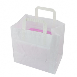 Paper Carrier Bag for 4 Cavity Boxes