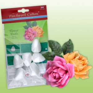 Patchwork Cutters - Flower Buds - 50mm (Pack of 6)