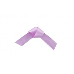 Doric Double Faced Woven Edge Satin Ribbon - Lavender - 15mm x 25m