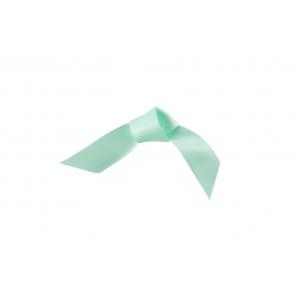Doric Double Faced Woven Edge Satin Ribbon - Eau De Nil - 15mm x 25m