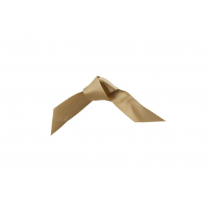 Doric Double Faced Woven Edge Satin Ribbon - Gold - 15mm x 25m