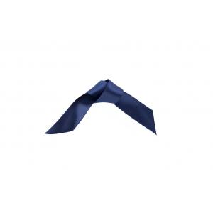 Doric Double Faced Woven Edge Satin Ribbon - Navy Blue - 15mm x 25m