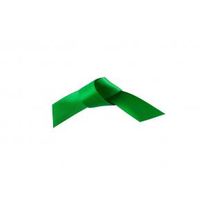 Doric Double Faced Woven Edge Satin Ribbon - Grass Green - 15mm x 25m