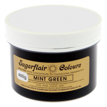 Sugarflair Spectral Paste - Bulk - Mint Green (400g)