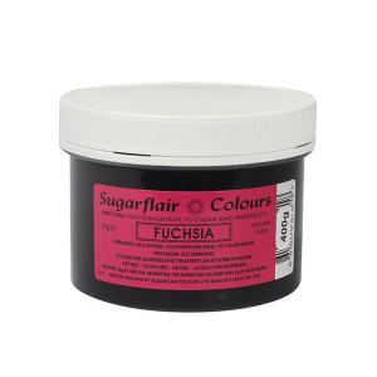 Sugarflair Spectral Paste - Bulk - Fuchsia (400g)