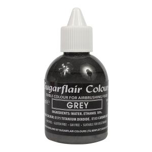 Sugarflair Airbrush Colour - Grey - 60ml