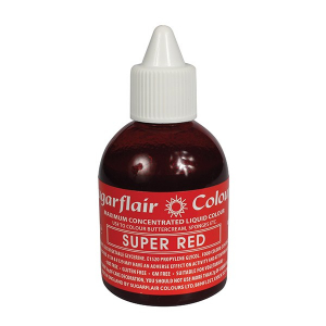 Sugarflair Maximum Concentrated Liquid Food Colour - Super Red (60ml)