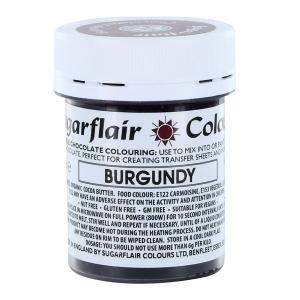Sugarflair Chocolate Colouring - Burgundy (35g)
