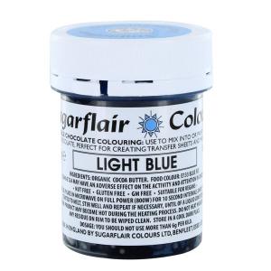 Sugarflair Chocolate Colouring - Light Blue (35g)