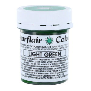 Sugarflair Chocolate Colouring - Light Green (35g)