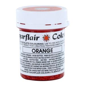 Sugarflair Chocolate Colouring - Orange (35g)