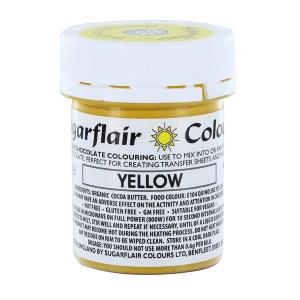 Sugarflair Chocolate Colouring - Yellow (35g)