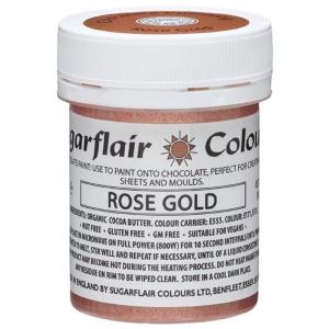 Sugarflair Chocolate Paint - Rose Gold (35g)