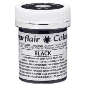 Sugarflair Chocolate Colouring - Black (35g)