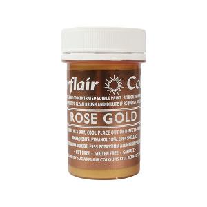 Sugarflair Edible Paint - Rose Gold (20g)