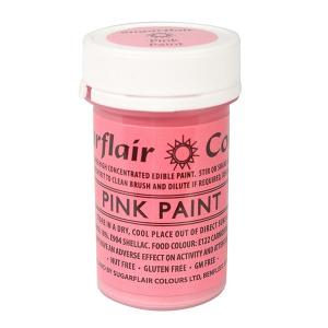 Sugarflair Edible Paint - Pink (20g)