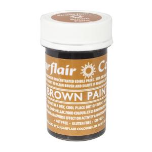 Sugarflair Edible Paint - Brown (20g)
