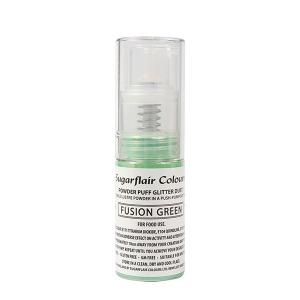 ugarflair Powder Puff Glitter Pump Spray - Fusion Green (10g)