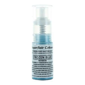 Sugarflair Powder Puff Glitter Pump Spray - Frozen Blue (10g)