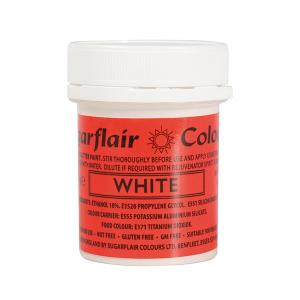 Sugarflair Edible Glitter Paint - White (35g)