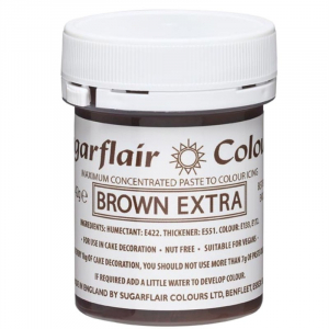 Sugarflair Maximum Concentrated Paste - Brown Extra (42g)