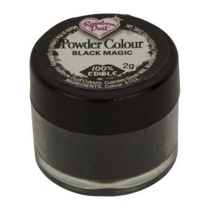 Rainbow Dust Powder Colour - Black Magic (2g)