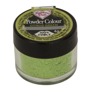 Rainbow Dust Powder Colour - Citrus Green (4g)