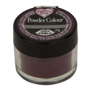 Rainbow Dust Powder Colour - Aubergine (2g)