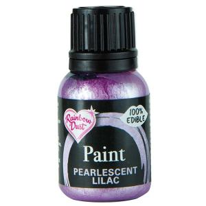 Rainbow Pearlescent Food Paint - Lilac (25ml)