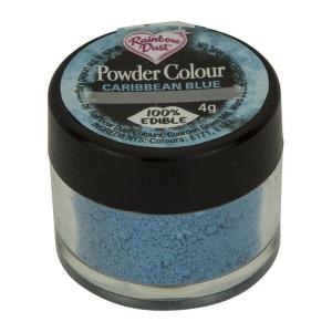 Rainbow Dust Powder Colour - Caribbean Blue (4g)