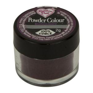 Rainbow Dust Powder Colour - Burgundy (2g)