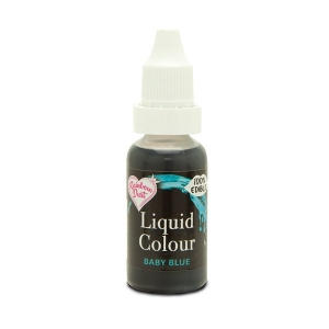 Rainbow Dust Liquid Colour - Baby Blue (16ml)