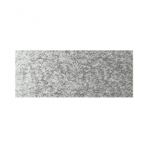 """Single Thick Cut Edge Cake Cards - Oblong - Silver - 10"""" x 5"""" (Pack of 25)"""