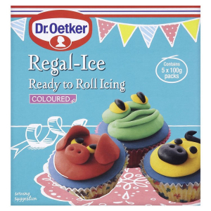 Dr. Oetker Ready to Roll Icing - Coloured (5 x 100g)