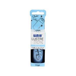 PME Lustre Snow - Edible Lustre Dust - Blue (10g)