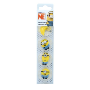 Culpitt Sugar Pipings - Despicable Me - Minions (Pack of 8)